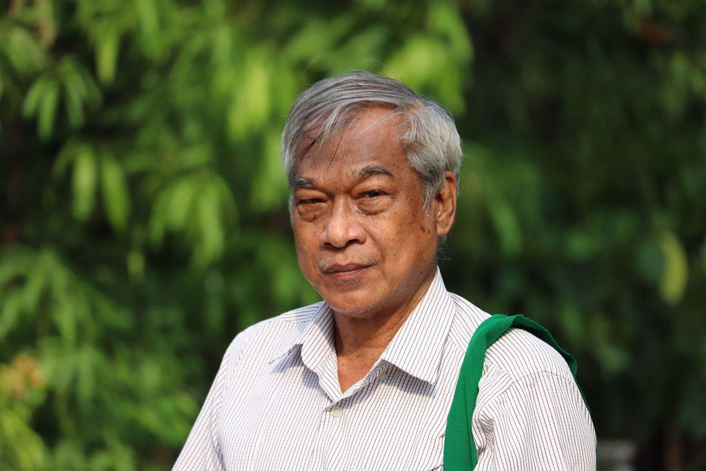 シュールな画風で社会を風刺 ミャンマーの検閲時代を闘い抜いたサンミン