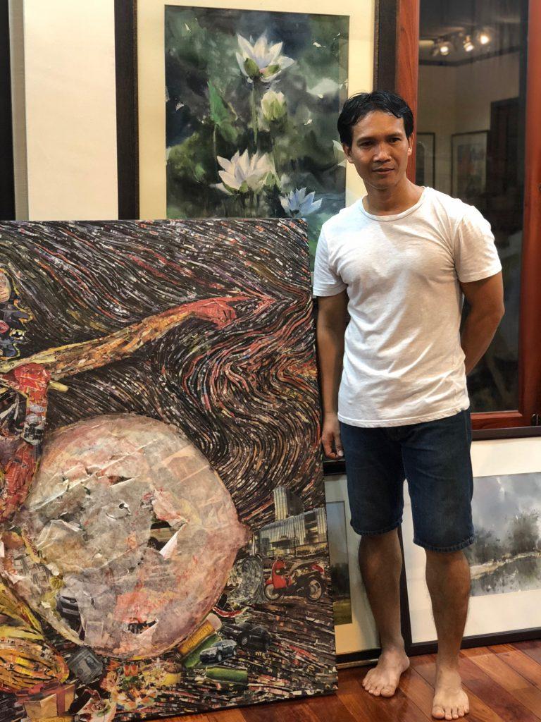 Laotian artists ①  Hongsa  Khotsouvanh
