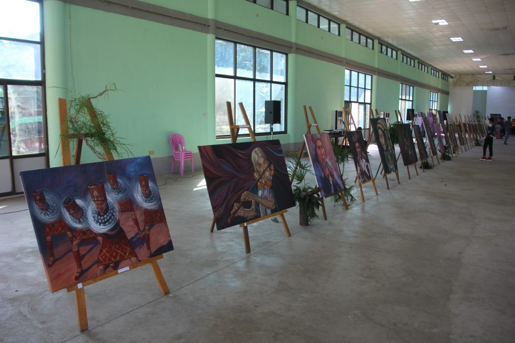 The First Painting Exhibition in Myitkyina, Kachin People's Rich Expressions – Introducing Local Artist to the Wide World