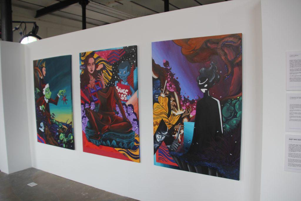 Art and Media Ask for Peace and Society− Facebook-Sponsored Art Exhibition 'Sa Gar Ahla Ku Htone'