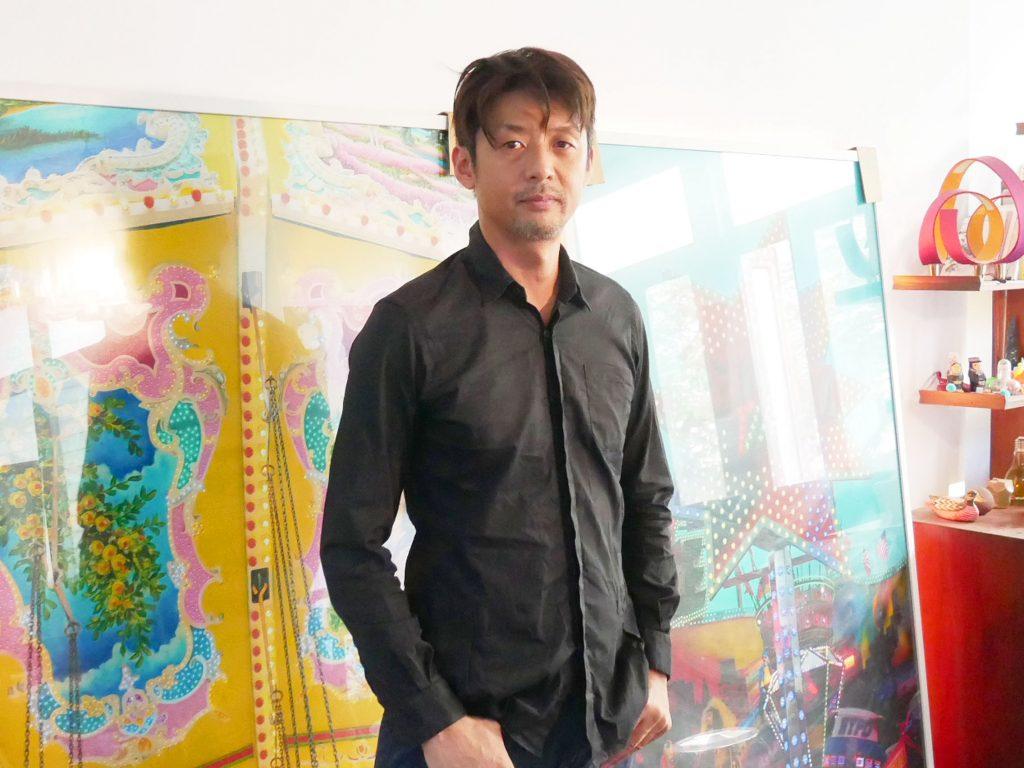 Relationship Between Growing Cities and Arts: Bangkok-based Artist Eiji Sumi.