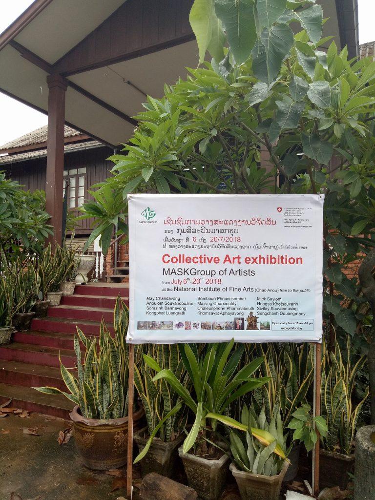Collective Art Exhibition in Vientiane